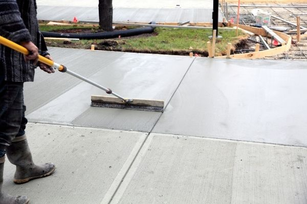 stamped concrete Fort Worth